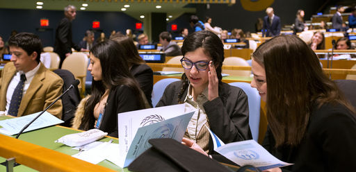 Slideshow: UNIS Students Examine the Media in 40th annual UN Conference