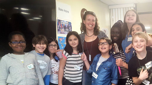 Award Winning Author Kelly Barnhill Mentors Middle School Students